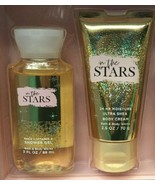 Set BATH & BODY WORKS IN THE STARS Body Cream and Shower Gel TRAVEL SIZE - $70.10