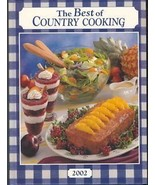 Taste of Home BEST of COUNTRY COOKING Cookbook 2002 - $6.99