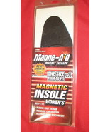 Magne-Aid Magnetic Insoles Womens - $7.99