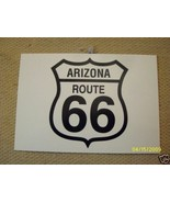ARIZONA ROUTE 66  ROAD SIGN   POSTCARD NOS  NEW OLD STOCK - $9.89