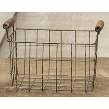 Rusty Wire Rectangle Basket, 6x4.25 - $27.39