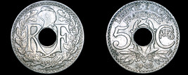 1918 French 5 Centimes World Coin - France - $7.49