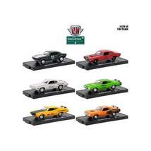 Drivers 6 Cars Set Release 50 In Blister Packs 1/64 Diecast Model Cars by M2 Mac - $55.56