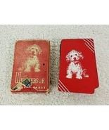 Miniature Whiskers Jr Playing Cards with Dog All Here T80 - $9.41