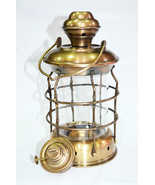 Brass Anchor Oil Lamp Nautical Maritime Ship Lantern Boat Light Home Dec... - $47.38