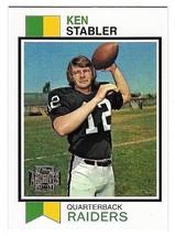 Topps Archives 2001 Ken Stabler Card #487 QB Raiders Reprint 49 of 178 Mint - $0.94