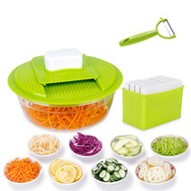Mandoline Vegetable Slicer Steel Stainless Cutting Grater Multi Food Cut... - €19,84 EUR