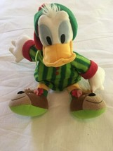 Disney Store Donald Duck Christmas Holiday Plush Stuffed Animal Reindeer... - $42.00