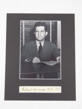 Leland Barrows SIGNED Matted 8x10 Display K.U. 28 US Ambassador Autograp... - $98.95