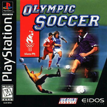 Olympic Soccer Atlanta 1996 - PlayStation 1  - $19.99