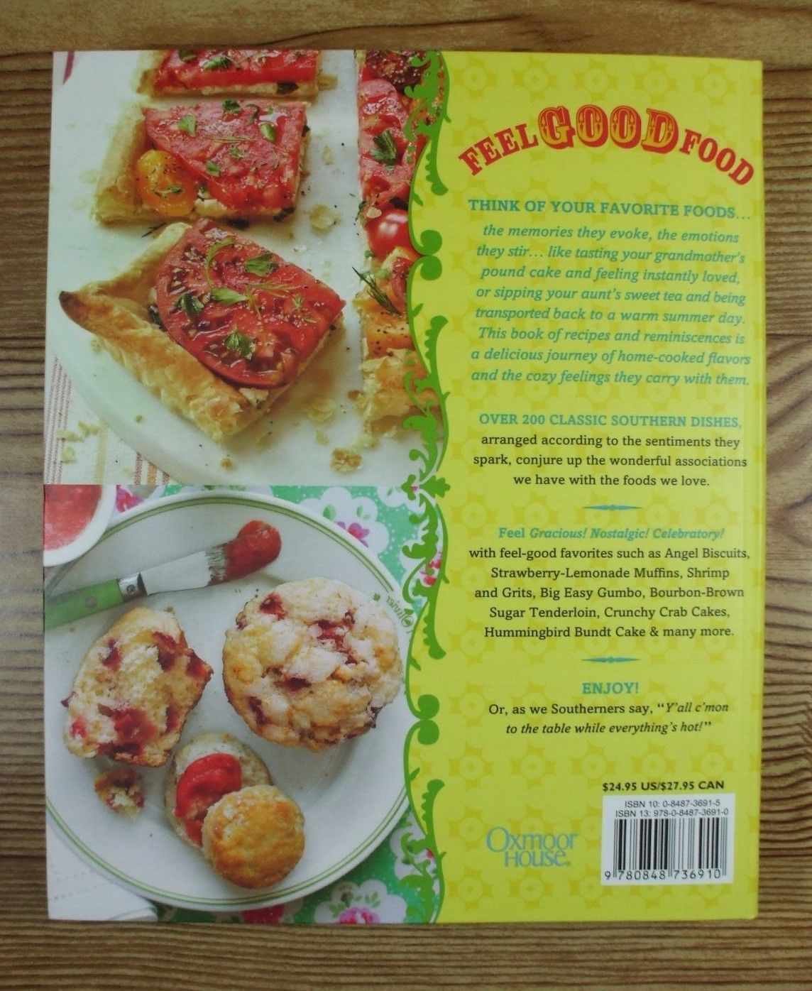 Southern Living Feel Good Food Cookbook Simple and Satisfying