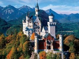 Buffalo Games - Majestic Castles - Neuschwanstein Castle Bavaria - 750 Piece Jig - $18.72