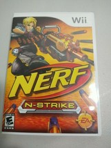Nerf N-Strike Wii Action / Adventure (Video Game) With Manual and Case FREE SHIP - $8.09
