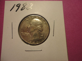 1982 QUARTER     WE COMBINE SHIPPING - $1.98