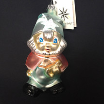 Christopher Radko Santas Little Helper Glass Christmas Poland 1992  - $32.62