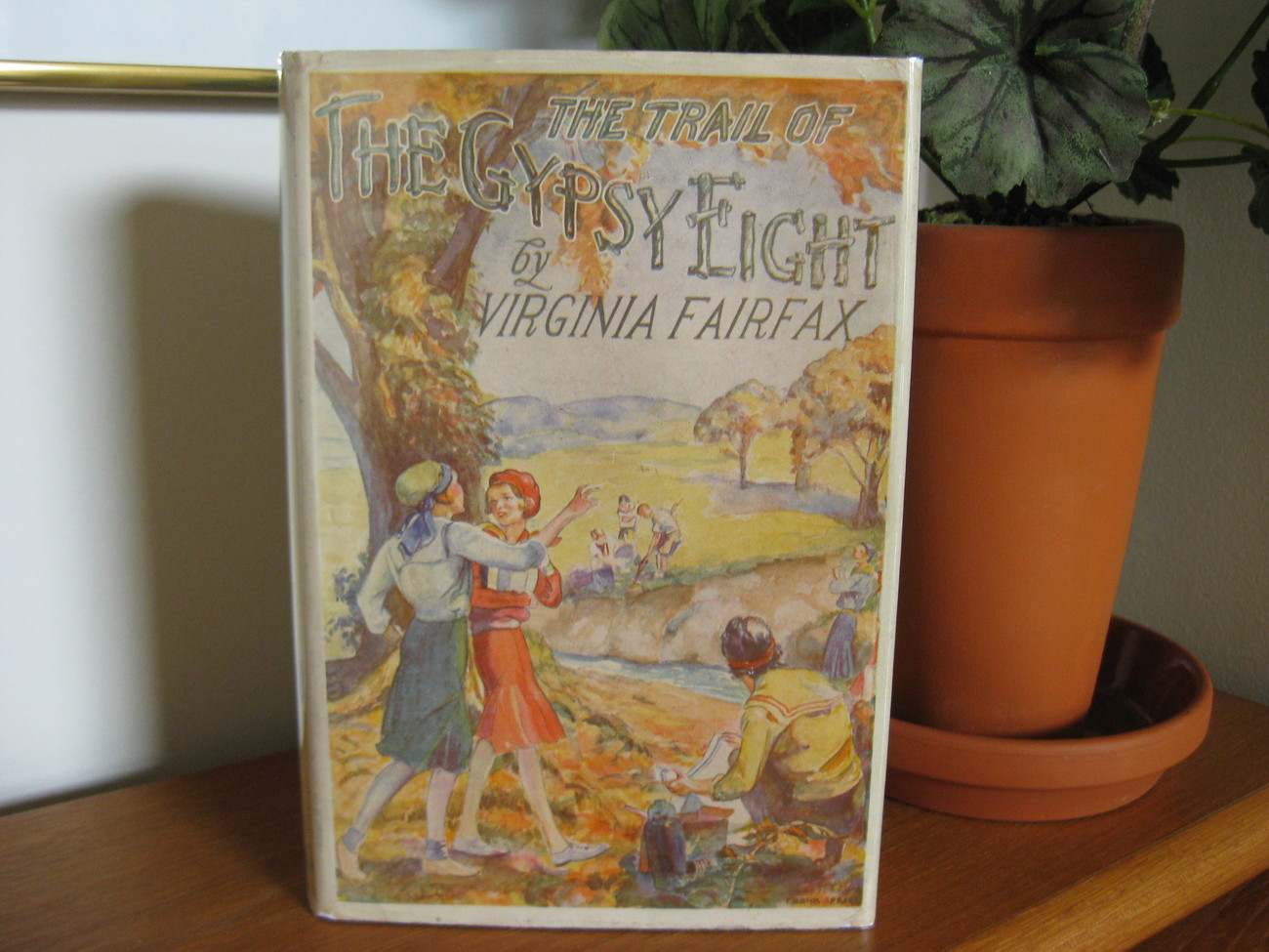 TRAIL OF THE GYPSY EIGHT VIRGINIA FAIRFAX GIRL SCOUTS SERIES HC/DJ Hard to Find