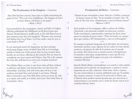 Bilingual Pray the Rosary Booklet image 2