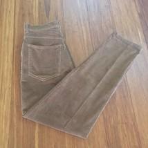 Lauren Ralph Lauren Womens Sz8 Corduroy Pants  Brown Cotton Blend Stretch Pants - $15.80