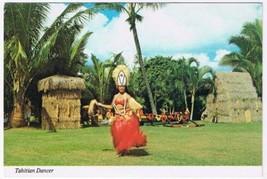 Hawaii Postcard Tahitian Dancer At Kodak Hula Show - $3.79