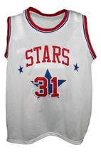 Utah Stars Aba Retro 1972 Basketball Jersey Sewn White Any Size image 4