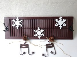 Holiday Shutter Sign & Coat Hook - $79.99