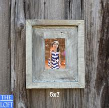 "The Post & Beam Driftwood 3.5""-  - Vintage Rustic Decor Reclaimed Wood Frame (Al - $24.00"