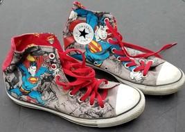 "Converse Chuck Taylor All Star ""Superman"" High Top Canvas Shoes Men's 8.5 - $41.80"