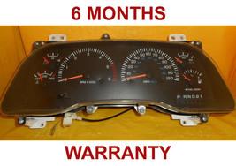 98 Dodge Ram Instrument Cluster Speedometer BLACK PLUG  w/Tach - $98.95