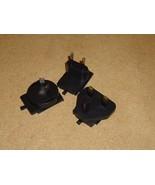 Generic Lot Of Travel Adapters Black Plastic Metal - $7.11