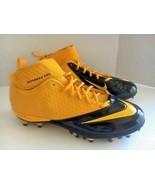 Nike Lunar Super Bad Pro Detachable Football Cleats (15, Gold/Black)  NEW - $14.87