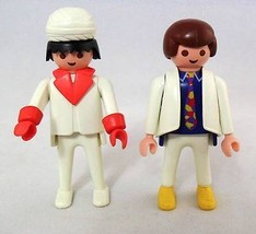 """Playmobil Toy People """"Disco Dancers"""" Two Well Dressed Dapper Fellows 197... - $9.75"""