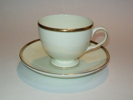 Wedgwood Majesty Gold Cup & Saucer Set s  - $12.61