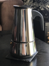 Stainless Steel Moka Espresso Maker- Percolator Cafetiere::6 Cups:: - $30.00