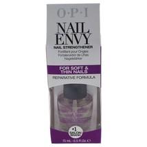 Nicole By Opi Soft & Thin Nail Envy Nail Strengthener, T111, .5 Fl Oz