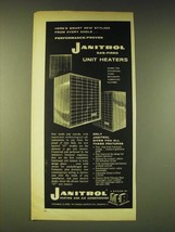 1960 Janitrol Gas-fired Unit heaters Ad - Here's smart new styling - $14.99