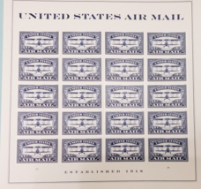 United States AIR MAIL Blue - (USPS)  FOREVER STAMPS 20 - $15.95