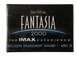Disney Fantasia 2000 Pinback Button IMAX Experience Promotional Pin - $5.35