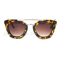 Womens Retro Designer Sunglasses Metal Top Modern Butterfly - £5.70 GBP