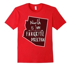 New Shirts - Arizona North Is My Favorite Direction Compass Arrows Shirt Men - $19.95+