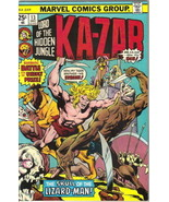 Ka-Zar Lord of the Hidden Jungle Comic Book #13 Marvel Comics 1975 VERY ... - $4.25
