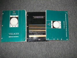 1998 Ford Mercury Villager Service Shop Repair Manual Set 98 W EVTM & PC... - $7.98