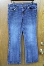 W9731 Womens Gap 1969 Dark Wash Blue Premium Long & L EAN J EAN S Boot Cut 29/8 - $15.45