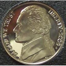2000-S Proof Jefferson Nickel PF65 Deep Cameo #0187 - $1.99