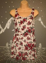 Divided Small Rose Print Romper - $10.00