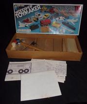 Vtg Handy Andy Woodshop Toymaker Set #4182-1983 Monogram Models White Cedar Wood - $8.49