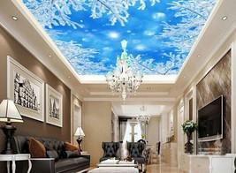 3D Blue Sky Cedar Ceiling WallPaper Murals Wall Print Decal Deco AJ WALL... - $34.47+