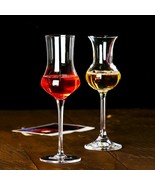 LOULONG® Wine Taster Exclusive Use Slender Waist Tulip Crystal Cup Liqueur - $16.65+