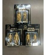 STAR WARS Skywalker Saga Commemorative Edition Gold 2 Packs All 3 - $54.77