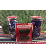 New !! Mini Shatterproof Ornaments  20 per Container  Set of 2  By Holid... - $12.17