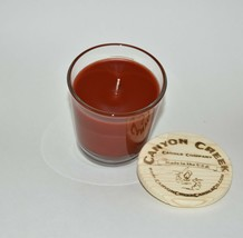New Canyon Creek Candle Company 8oz Tumbler Cranberry Orange Jar Handmade! - $23.94